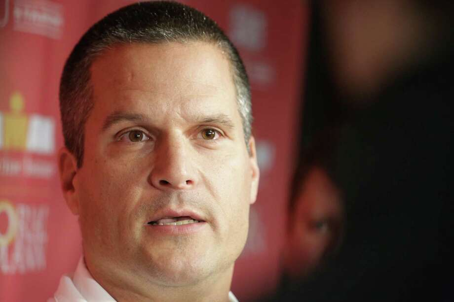 University of Houston football defensive coordinator Todd Orlando meets with press at theUniversity of Houston, Wednesday January 14, 2015. (Billy Smith II / Houston Chronicle) Photo: Billy Smith II, Staff / © 2015 Houston Chronicle
