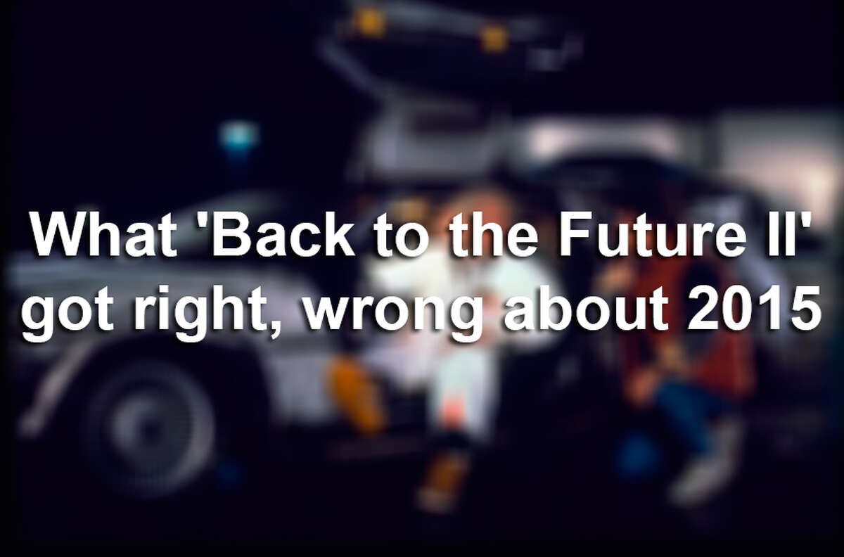 What 'Back to the Future II' got right, wrong about 2015