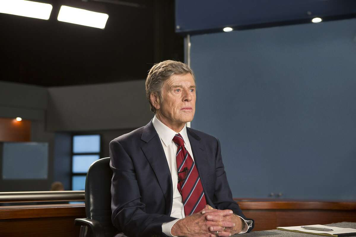 """In this image released by Sony Pictures Classics, Robert Redford portrays Dan Rather in a scene from, """"Truth."""" (Lisa Tomasetti /Sony Pictures Classics via AP)"""