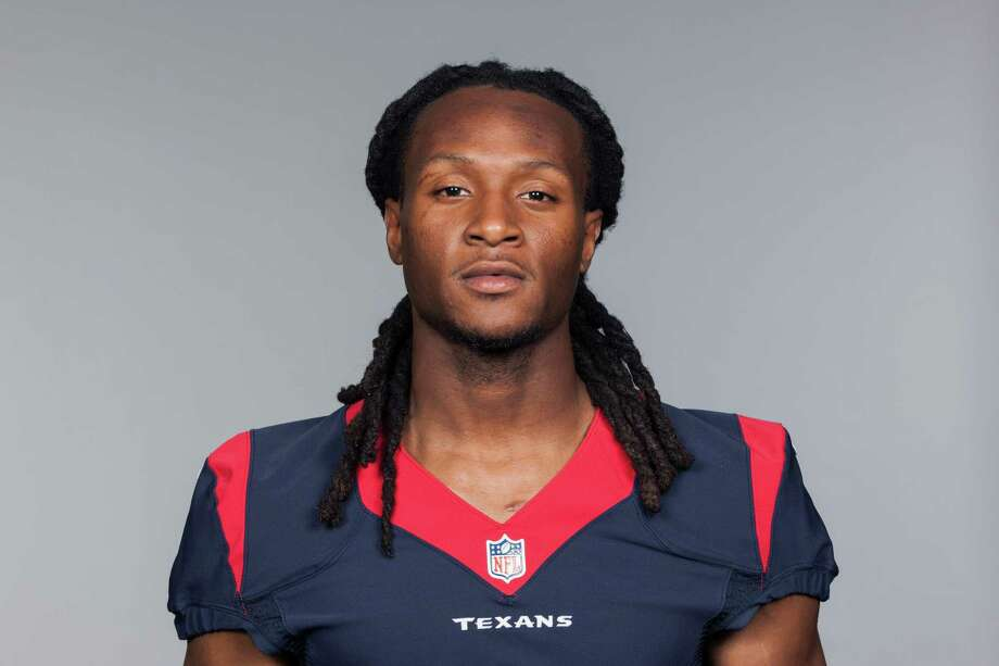 This is a 2015 photo of DeAndre Hopkins of the Houston Texans NFL football team. This image reflects the Houston Texans active roster as of Wednesday, July 1, 2015 when this image was taken. (AP Photo) Photo: FRE / NFLPV AP