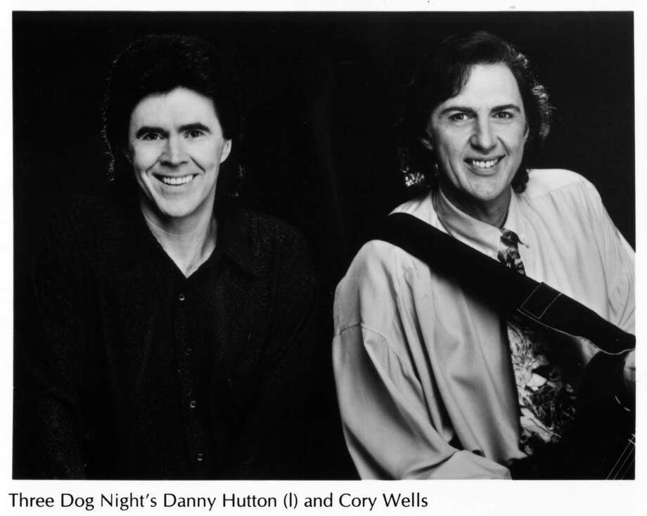 Cory Wells, right, and Three Dog Night band member Danny Hutton (shown in 2005)  were two of the group's original members when it formed in 1967. / HANDOUT 1998