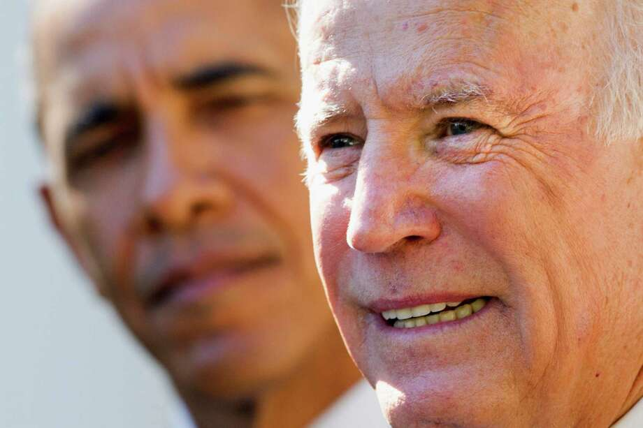 Vice President Joe Biden announces he will not run to succeed President Barack Obama. Photo: Jacquelyn Martin, STF / AP
