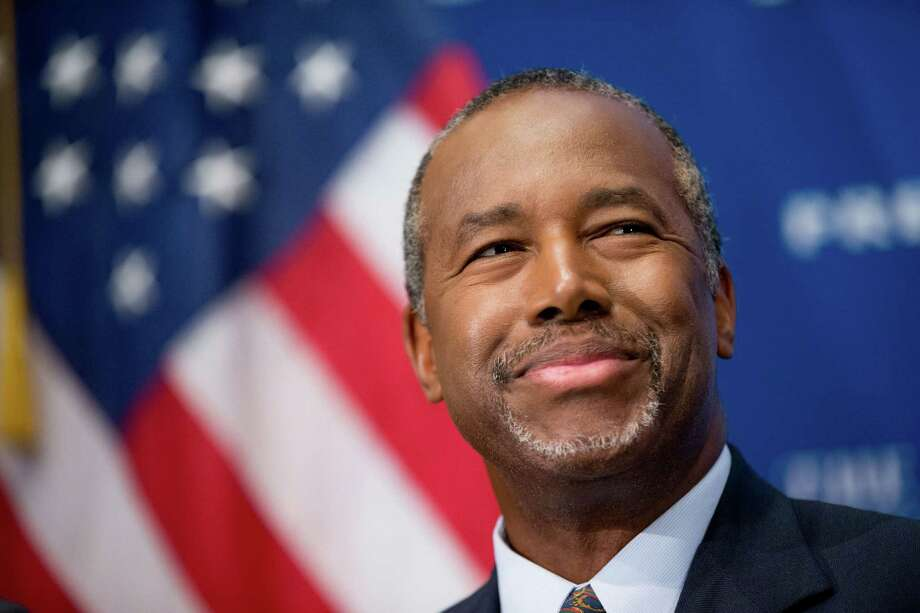 A Quinnipiac University poll released Thursday shows Dr. Ben Carson beating Donald Trump among Iowa likely Republican Caucus participants. Photo: Andrew Harnik / Associated Press / AP