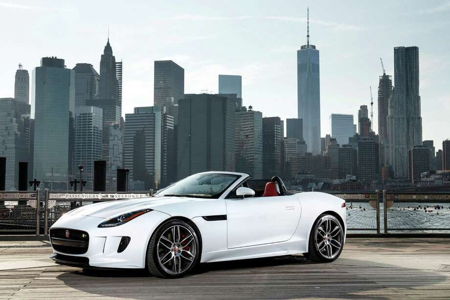 For the 2016 model year, the luxury sports car's power and drivetrain have been updated with all-wheel drive and a manual transmission is now offered. Photo: Jaguar