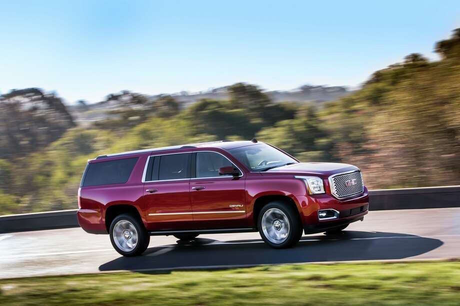 GMC's all-new 2015 Yukon delivers greater capability and refinement, with more power, new fold-flat rear seats and a quieter interior. Photo: GMC / 2013 Jim Fets Photography
