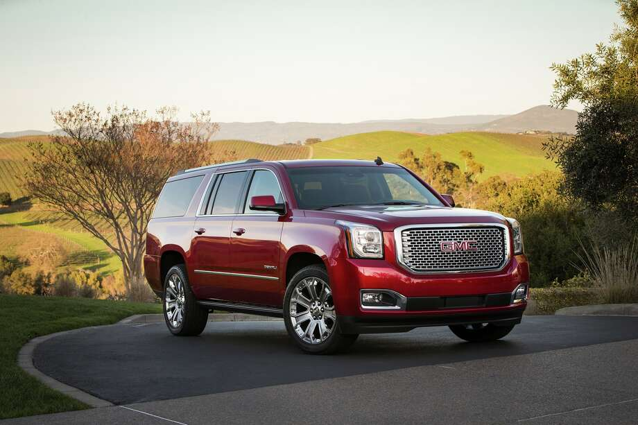 10. GMC Yukon, Yukon EXT Vehicle value benefiting U.S.: 82.5% Parts made in U.S. or Canada: 65% Suggested retail price: $48,315Source: 24/7 Wall St. Photo: GMC / 2013 Jim Fets Photography