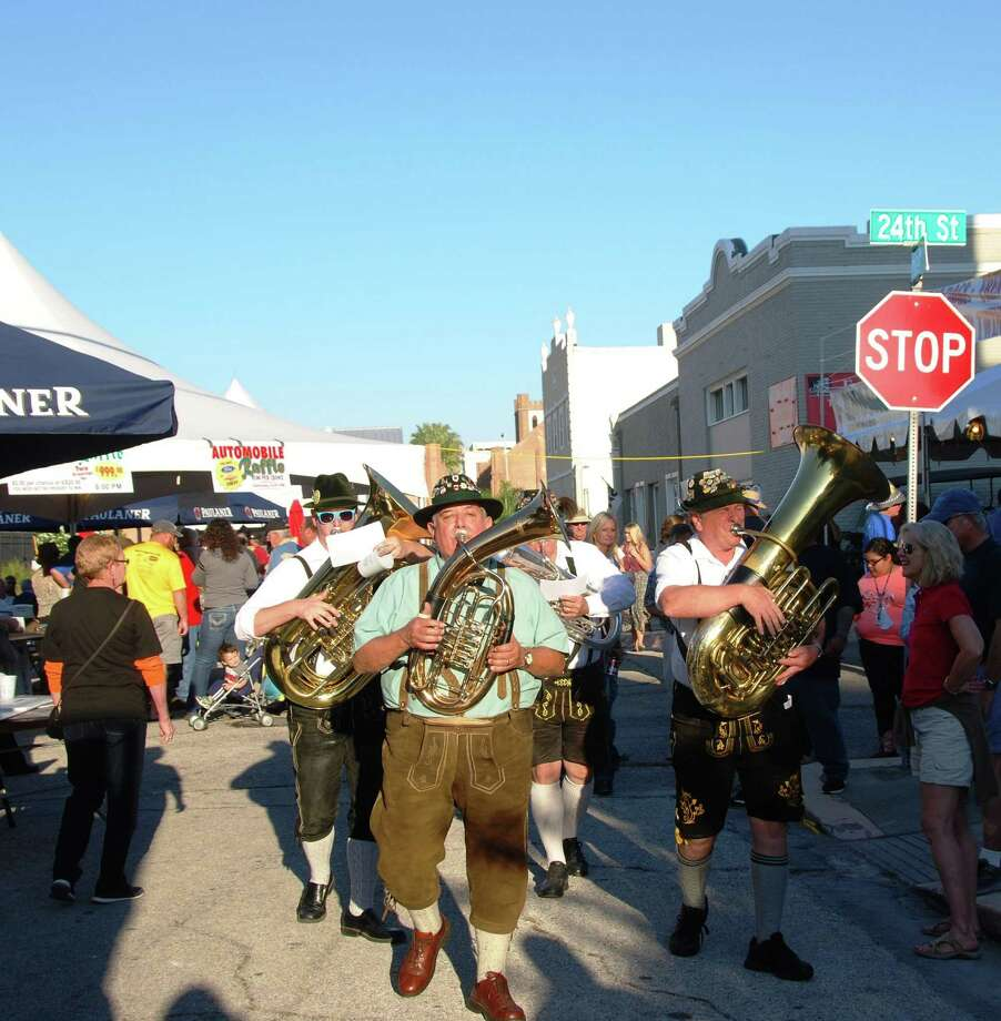 The 34th annual Island Oktoberfest takes place from 5-11 p.m. Friday, Oct. 23, and continues from 11 a.m.-11 p.m. Saturday, Oct. 24, on the grounds of and streets adjacent to First Lutheran Church at 24th and Winnie Street. Photo: Courtesy Robyn Bushong
