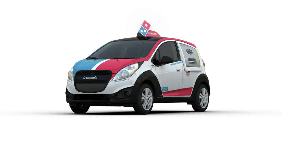 The DXP is specifically designed for pizza-delivering.Source: Domino's Pizza LLC