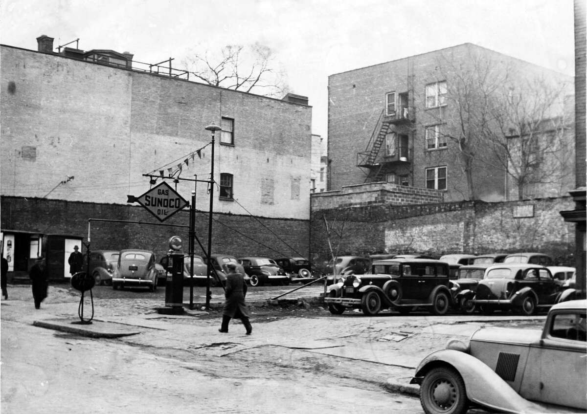 Albany parking lot at 149-51 Hudson Ave., Albany, Dec. 28, 1940. (Times Union Archive)