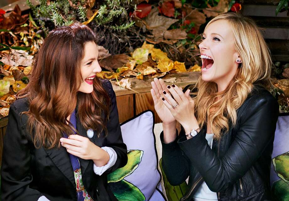 """Drew Barrymore, left, and Toni Collette in """"Miss You Already"""" Photo: Nick Wall"""