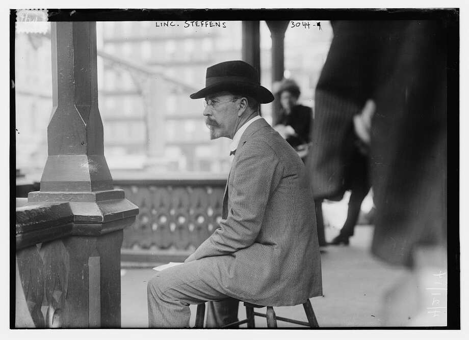 Reporter Lincoln Steffens in 1914. (Library of Congress, ggbain.15929).