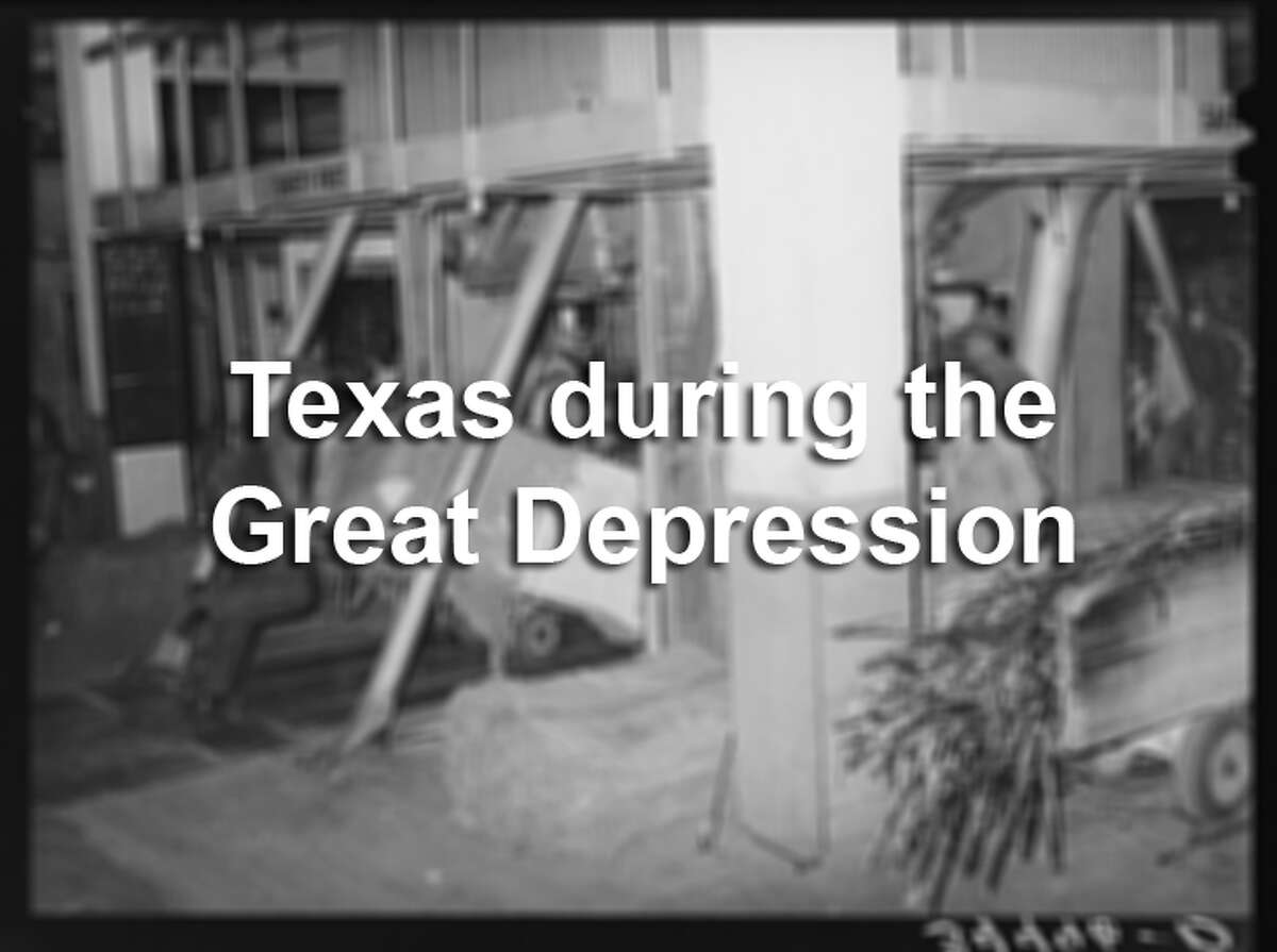 Archive photos from the Library of Congress show a period of Texas history that few people have seen.