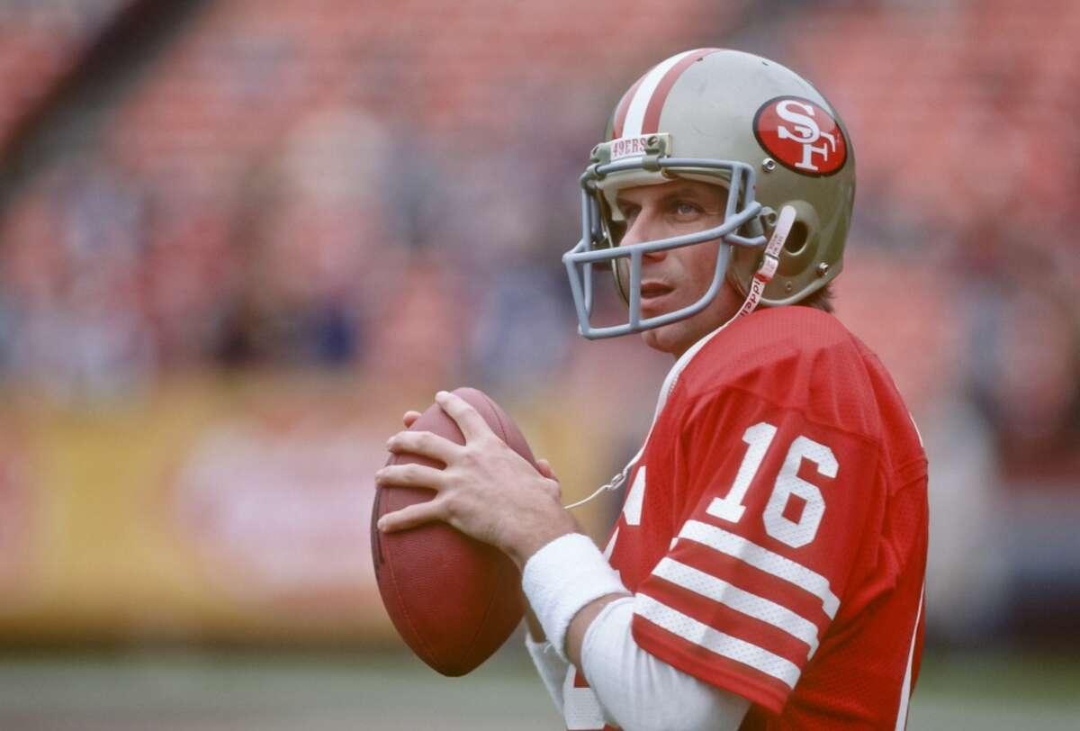 Joe Montana The San Francisco quarterback was a four-time Super Bowl champion.