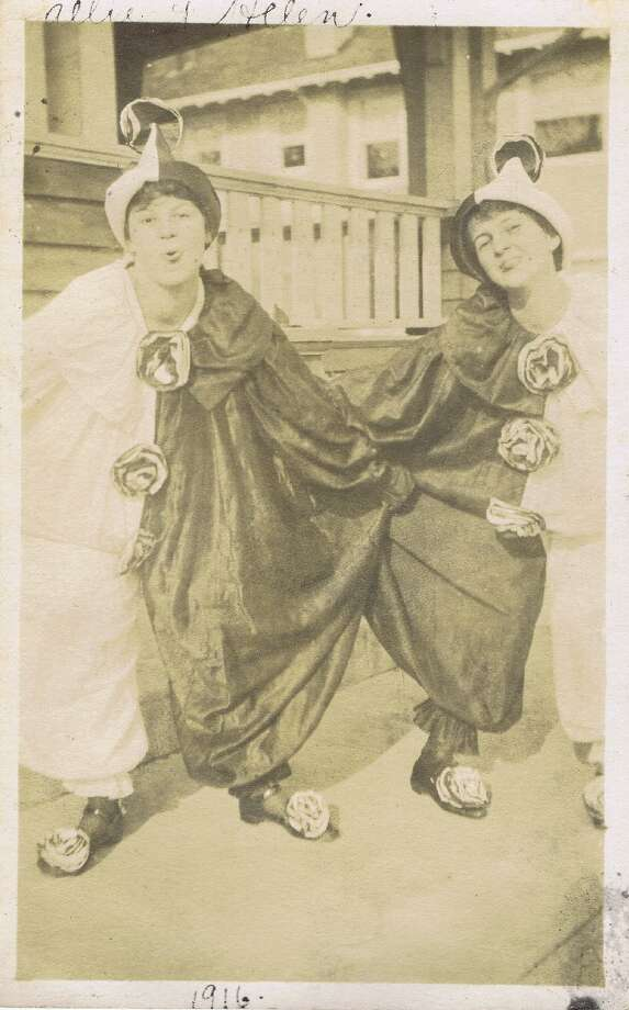 ca. 1930's, clown costumes, from the collection of Bob Bragman Photo: Bob Bragman