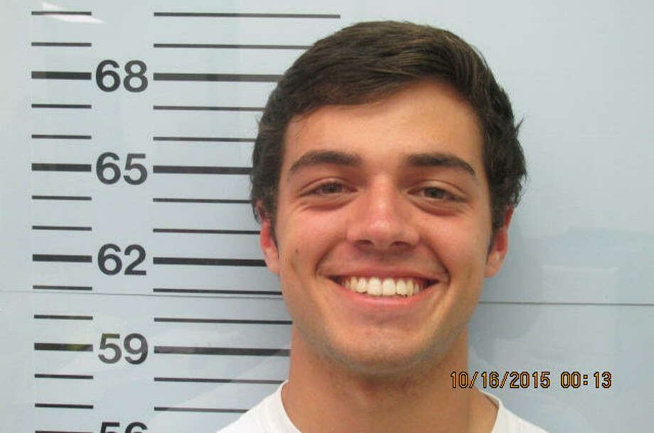 Christian Guy, a member of the Pi Kappa Alpha fraternity at the University of Mississippi, was charged with larceny in connection with the Oct. 6 assault of Sigma Pi fraternity member Jeremy Boyle. Photo: Lafayette County Jail