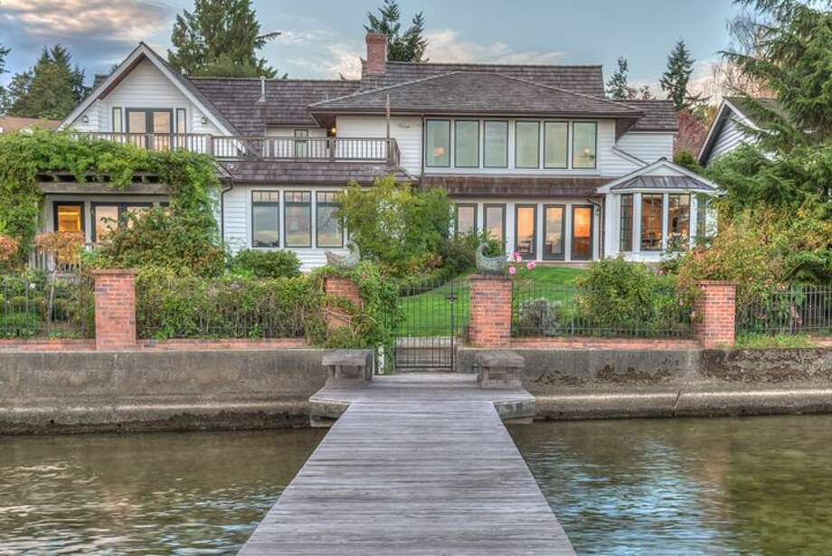 This home, 16520 Shore Drive N.E., is on the shores of Lake Washington in Lake Forest park. The four bedroom, three bathroom home is listed for $3.5 million. Built in 1934, the home has been beautifully updated but maintains the heart of its French country roots. Although the home has many lavish amenities, perhaps its most unique feature is the indoor car showroom that can accommodate up to six vehicles.There will be an open house for this home on Sunday, Oct. 25 from 1 - 4 p.m. You can see the full listing here. Photo: Lori And Alex Knuckey/Windermere Real Estate