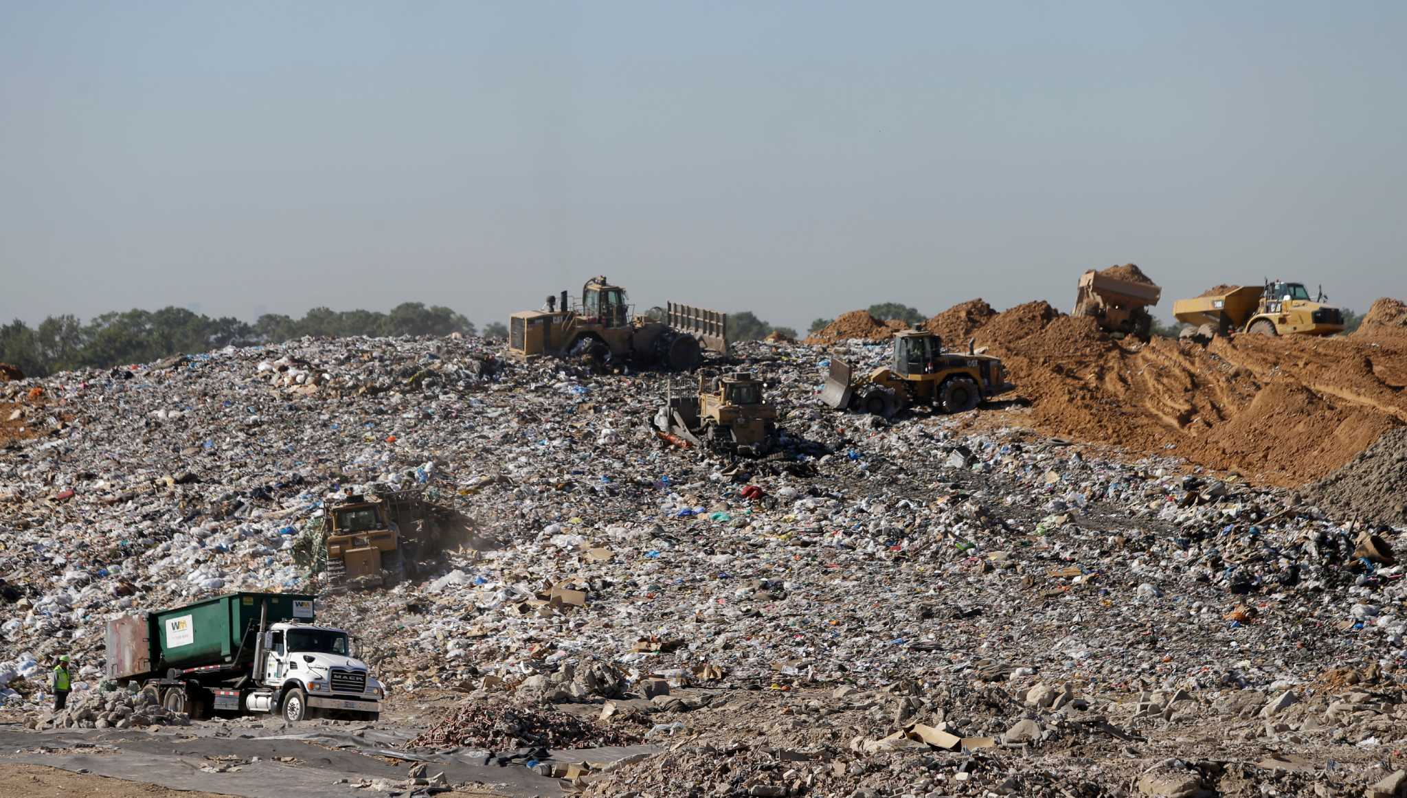 landfills a growing menace essay What is a landfill a landfill is a carefully designed structure built into or on top of  the ground, in which trash is separated from the area around it why are.
