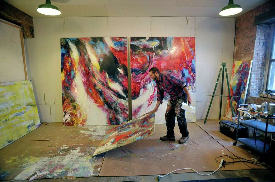 Ballston Spa-based painter channels challenges, joys of life into ...