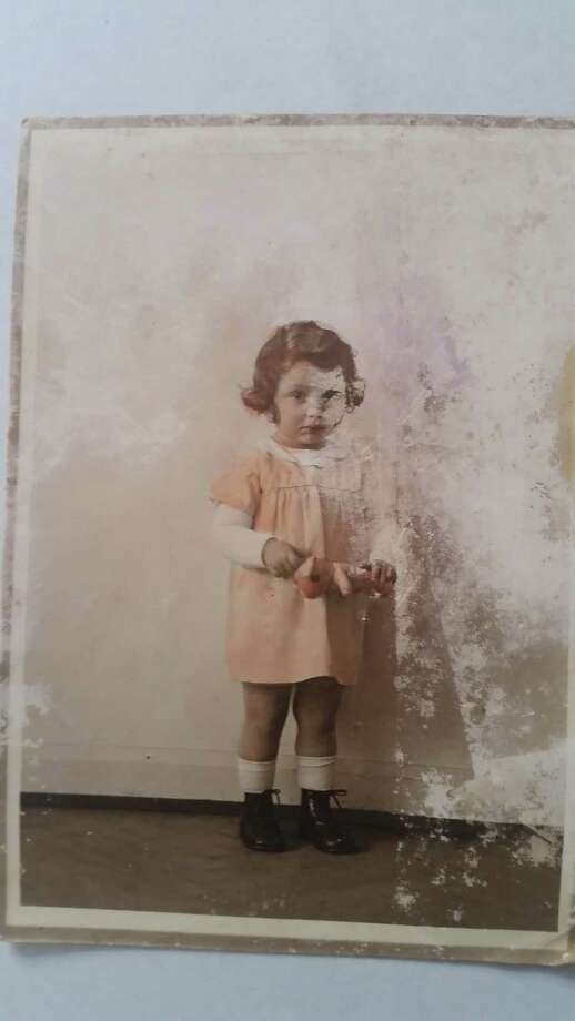 Ruth Nelly Abraham at age 3. She was taken to Auschwitz in 1944, where she was killed. Photo: Contributed Photo/Brinitzer Fami / Contributed Photo / Greenwich Time Contributed