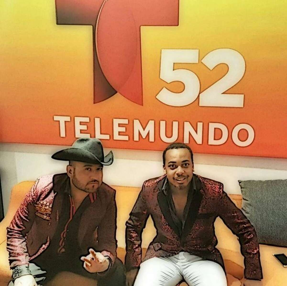 He told Estrella TV how he became an honorary member of the community when he crashed his neighbor's norteno band practice session. Lowery started playing drums with the group, then became the front man of his own band - El Compa Negro and Los Mas Poderosos.