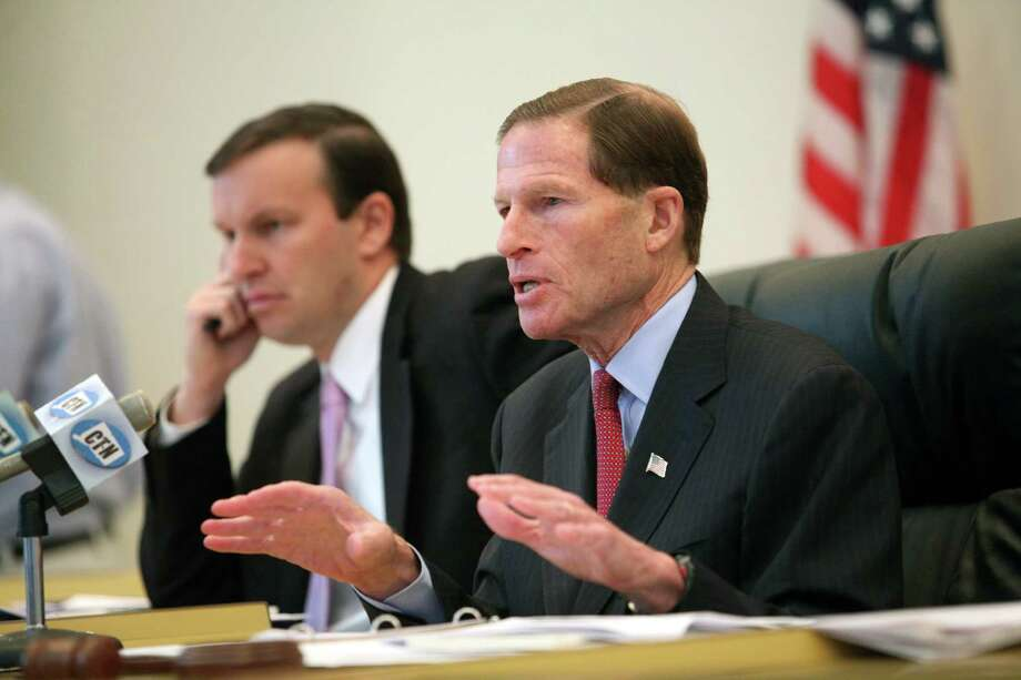 On October 22, 2015, Sen. Richard Blumenthal (D-Conn.) called for a Federal Trade Commission investigation into whether third-party electricity providers are gouging customers on prices and making it difficult to cancel their accounts. Photo: BK Angeletti / B.K. Angeletti / Connecticut Post freelance B.K. Angeletti