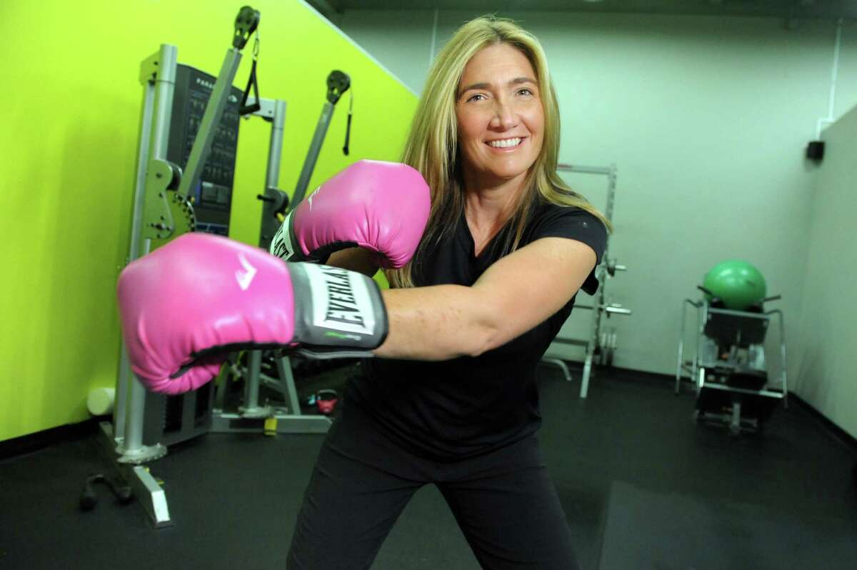 Jenny May Clermont, owner and wellness coach at Fitness Together in Latham.. (Cindy Schultz / Times Union)