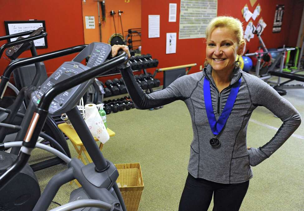 Personal trainer and Ironman coach Judy Torel, owner of Judy Torel?s Coaching and Training Studio in Albany. (Lori Van Buren / Times Union)