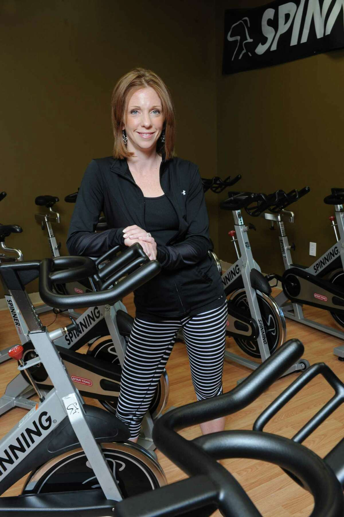 Karli Taylor owner of Poise Studios in Delmar. (Michael P. Farrell/Times Union)