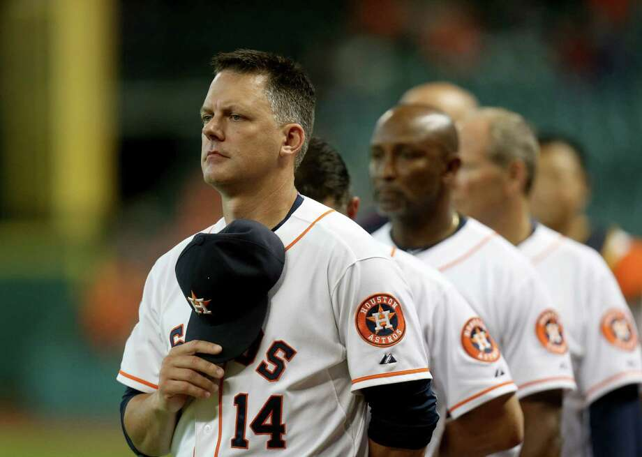 Astros manager A.J. Hinch will lead a dialogue at Minute Maid Park Wednesday night. Photo: Gary Coronado, Staff / © 2015 Houston Chronicle