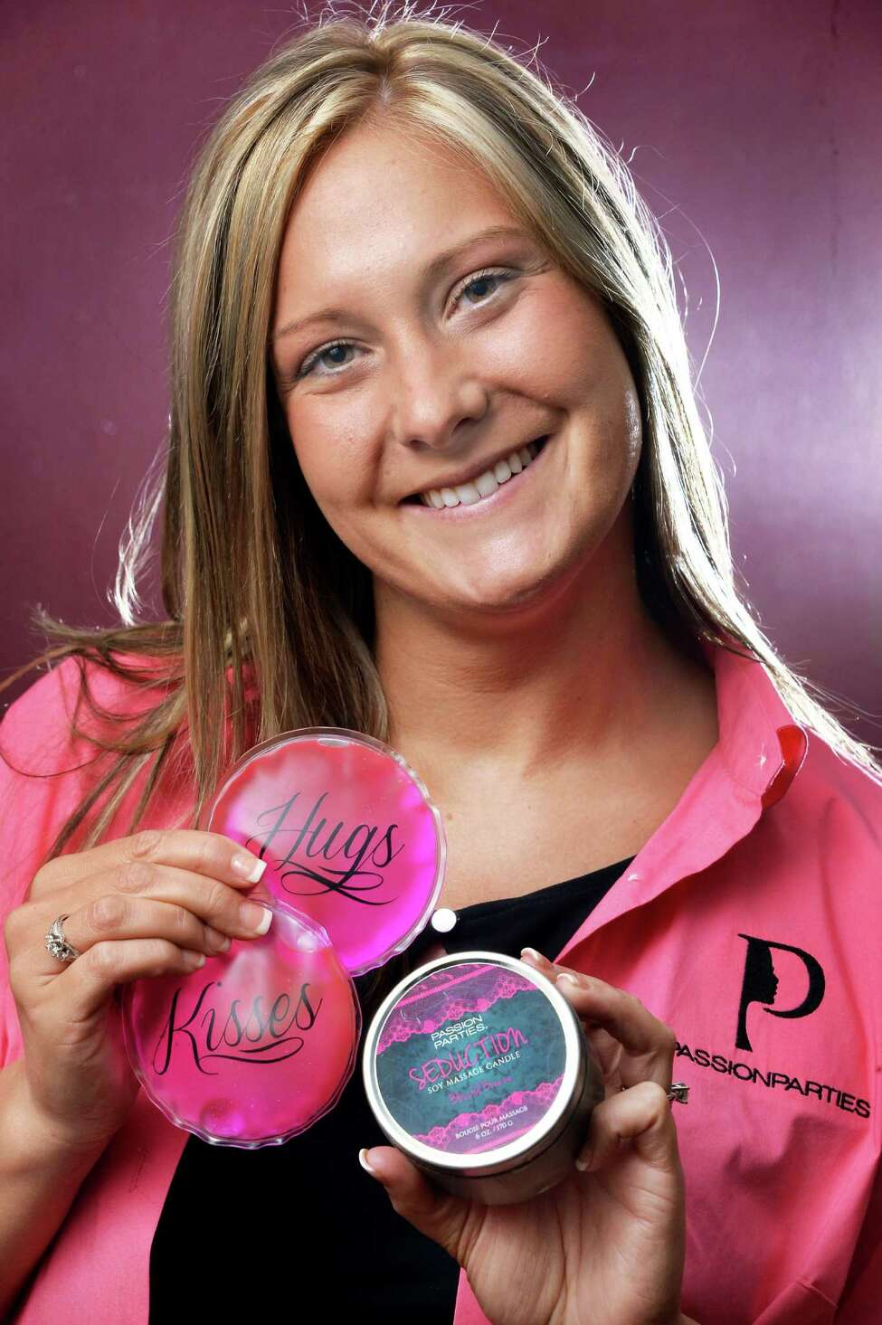 Sophia Holcomb with Passion Parties, an