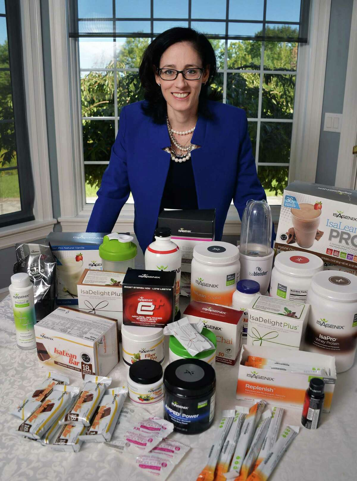 Dr. Virginia Giugliano with Isagenix, a dietary supplements company. (John Carl D'Annibale / Times Union)