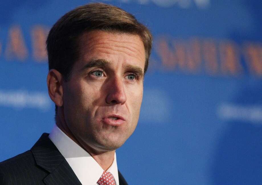 Beau Biden lost his life to a brain tumor in 2015, but his legacy lives on in the moonshot initiative headed by his father, Vice President Joe Biden, and now in a new endowed chair at MD Anderson Cancer Center. Photo: Mark Wilson, Getty Images
