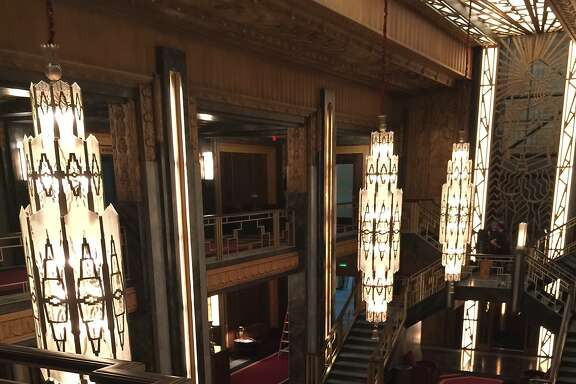 """The Hotel Cortez set, as seen from the blacony bar in """"American Horror Story: Hotel."""""""