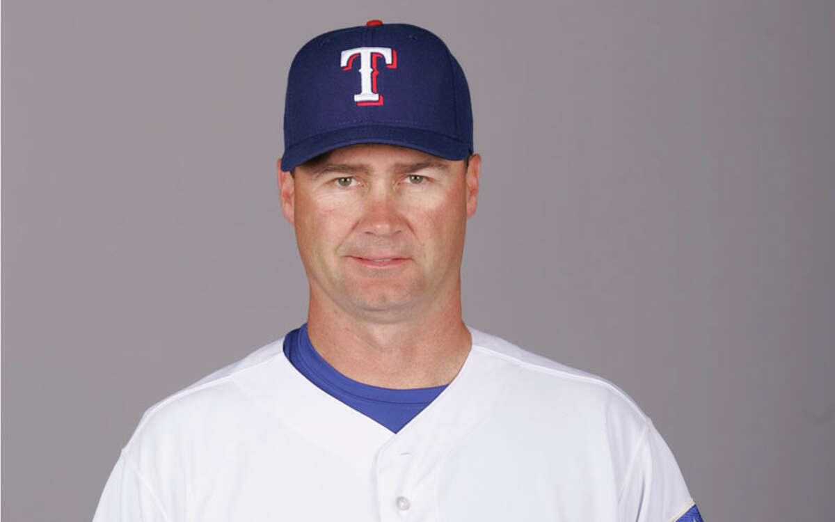 Scott Servais of the Texas Rangers during photo day at Surprise Stadium on February 25, 2007 in Surprise, Arizona.