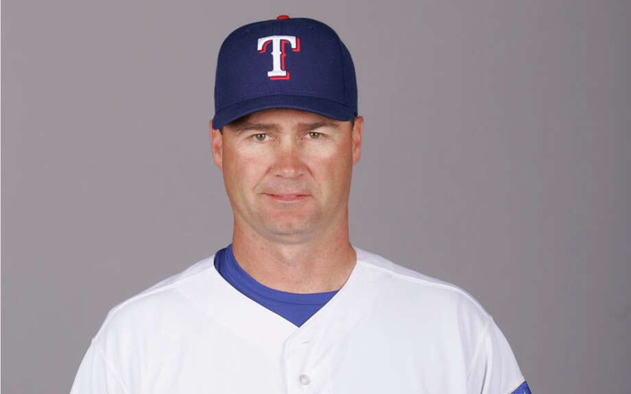 Scott Servais of the Texas Rangers during photo day at Surprise Stadium on February 25, 2007 in Surprise, Arizona. Photo: Jason Wise, Getty Images / 2007 MLB Photos