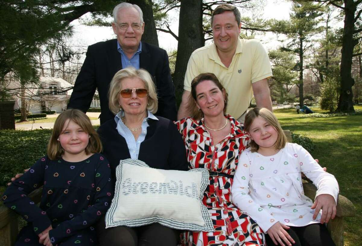 While attempting to travel from North Stamford to the Hyatt during last weekends nor'easter Jonathan Ochsner and his wife Evelyn, along with their daughters Emelina and Alexandra, became trapped in their car but were taken in by Howard and Carol Winklevoss.