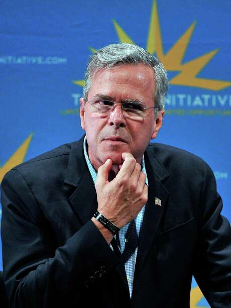 GOP presidential candidate Jeb Bush said Thursday  several communities in Texas would be interested in locating nuclear waste sites in their area. Photo: David Becker /Getty Images / 2015 Getty Images