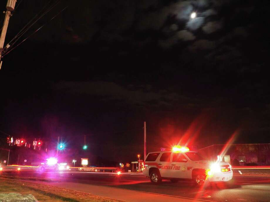 The scene of a fatal accident on Route 7 Oct. 22. (Photo J.p. Lawrence).