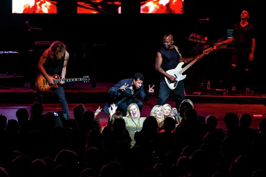 Lionel Richie was the star of this year's Tobin Center Benefit Concert on Oct. 22, 2015. Photo: Johndavid Scarcliff Courtesy Of The Tobin Center