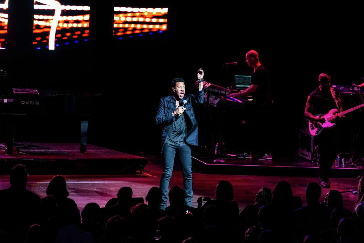 Lionel Richie was the star of this year's Tobin Center Benefit Concert on Oct. 22, 2015.