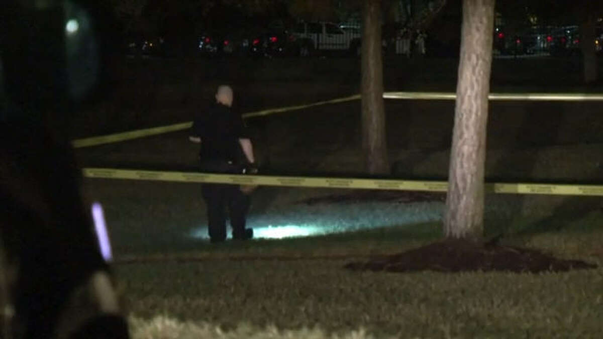 A man was shot and killed in Wussow Park in north Houston early Friday morning.