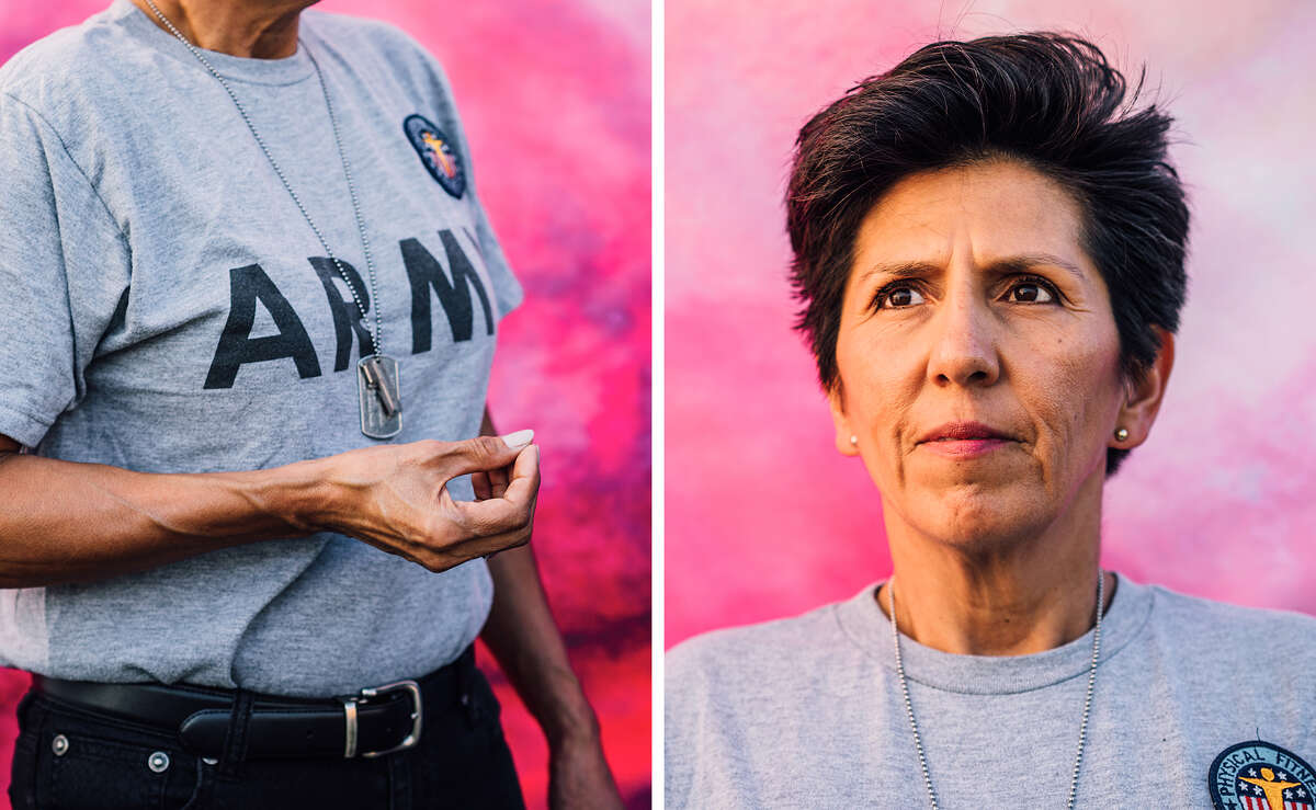 Iris Rodriguez, a 24-year military veteran and captain of a major fire department Why she's interested in Prop 1: Protection regardless of military status Iris tells wearehero.us: