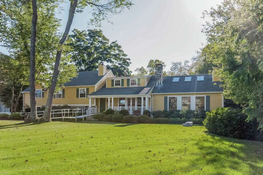 The property at 31 Burr Farms Road is on the market for $2,645,000. Photo: Contributed Photos / Westport News