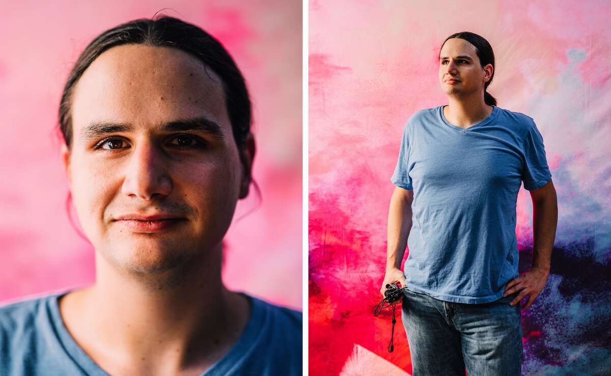 Sam Thomas , legally blind law student and advocate for the rights of Texans with disablities Why he's interested in Prop 1: Protection for people of all abilities He tells wearehero.us: