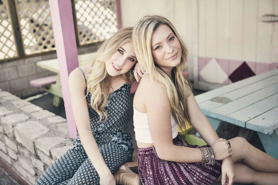 Country duo Maddie & Tae is one of 2015's breakout acts. Photo: Allister Ann