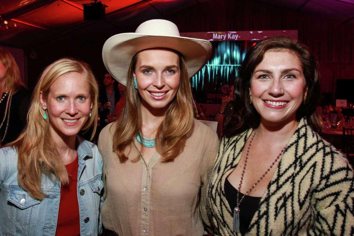Margot Davis, from left, Nina Delano and Elizabeth Gregory