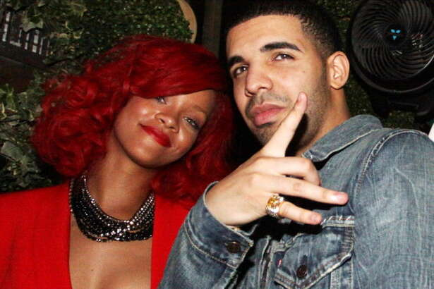 (L-R) Rihanna and Drake attend Drake's after party at Greenhouse on September 28, 2010 in New York City.