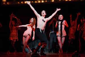 """2015 Broadway Cast of Roundabout Theatre Company's """"Cabaret."""" The show is coming to the Hobby Center."""