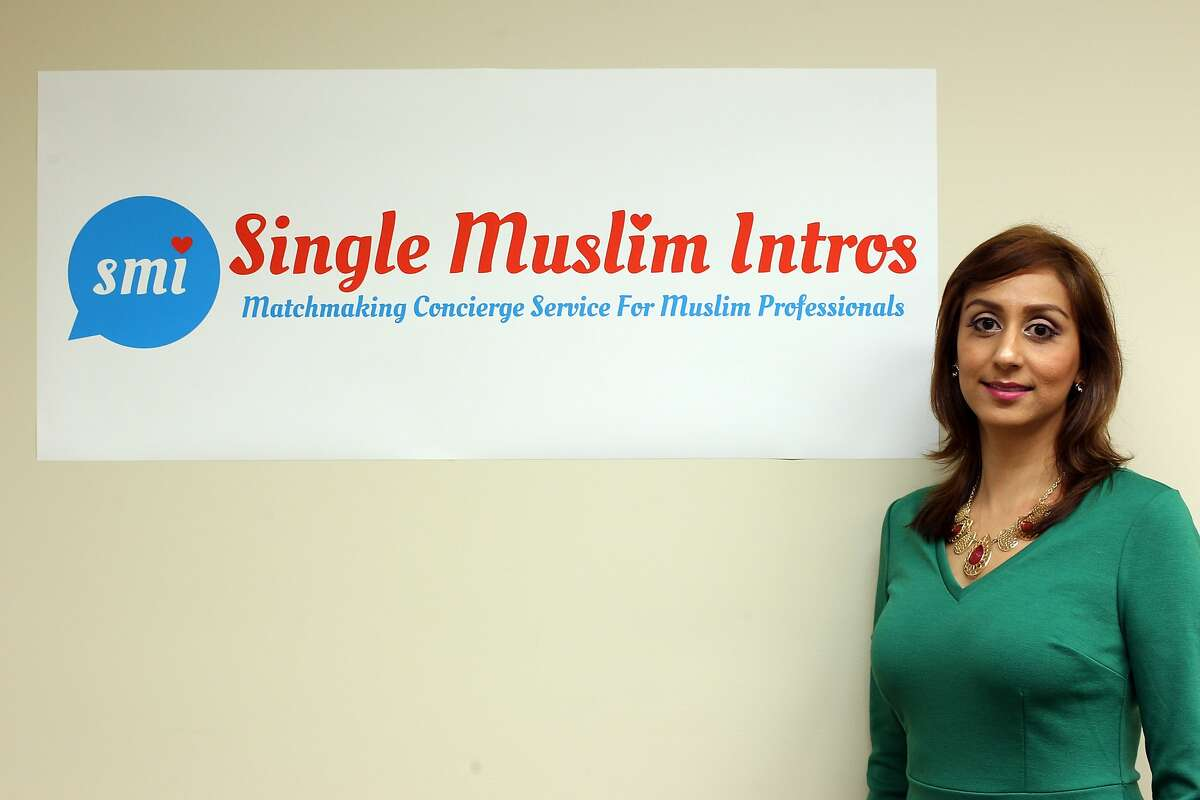 Sobia Nasir, the computer engineer and founder of her app, currently in private Beta, Single Muslim Intros which is a matchmaking concierge for college educated Muslims on October 23, 2015.