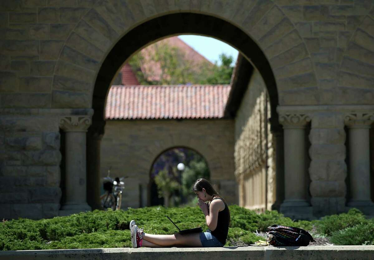 THE 10 HARDEST COLLEGES TO GET INTO IN THE U.S. 1) Stanford University, Palo Alto, Calif. 5.1 percent acceptance rate Stanford is the most difficult college to get into in the United States, according to U.S. News & World Report.